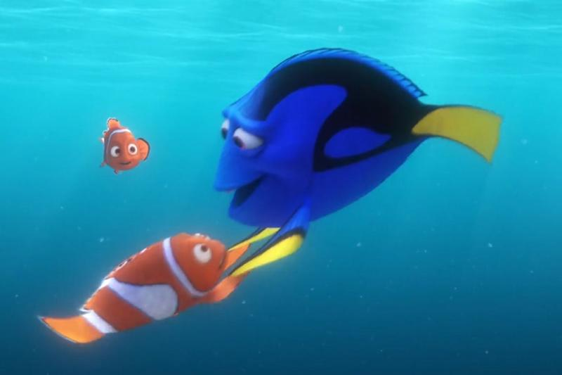 Dory sets out on a mission to find her parents, helped by Marlin and Nemo (Ellen/Disney/Pixar)