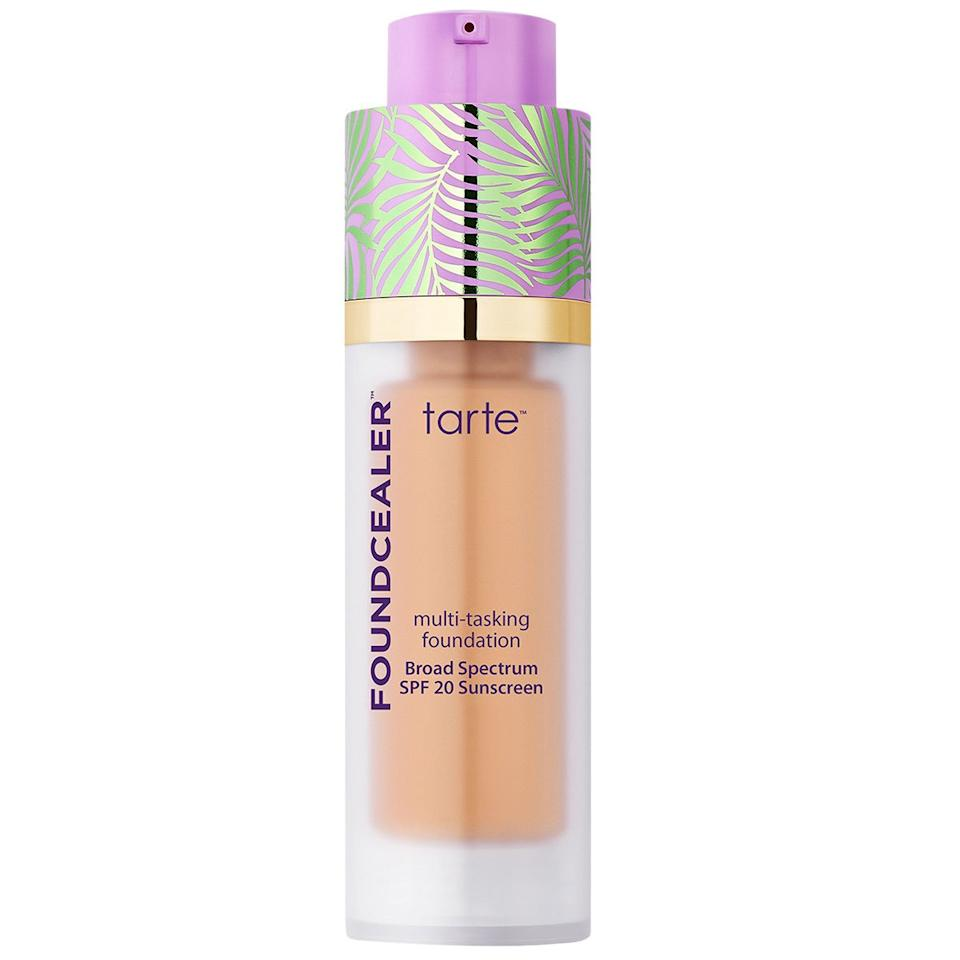 <p>This vegan base hydrates like a moisturizer, protects with SPF 20, and melts right in.</p>