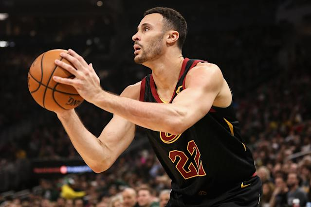 Larry Nance Jr. could see his value soar if Kevin Love is traded. (Photo by Dylan Buell/Getty Images)