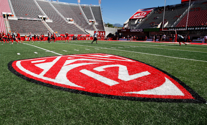 "The Pac-12 Conference has had preliminary discussions about potentially holding a six- or eight-game college football season that would start in January. <span class=""copyright"">(George Frey / Getty Images)</span>"