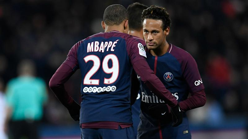 Neymar to Real Madrid links 'nothing but hot air', insists Mbappe