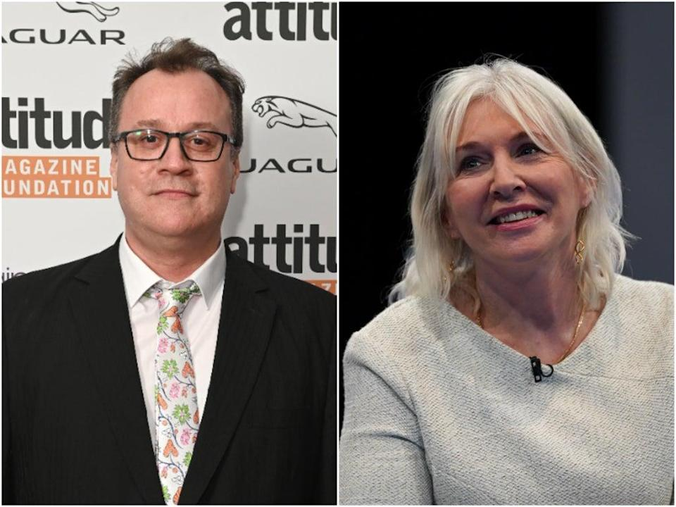 Russell T Davies hit out at Nadine Dorries (Getty)