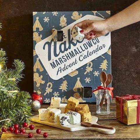 The Naked Marshmallow Co Gourmet Marshmallow Advent Calendar - Credit: The Naked Marshmallow Co