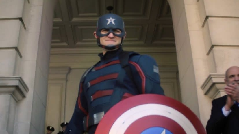 Here's everything you need to know about the new Captain America from the  first episode of 'Falcon and the Winter Soldier'