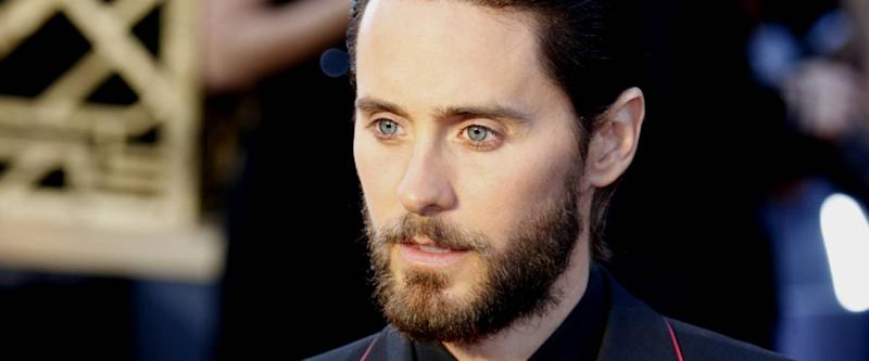 Jared Leto face close-up