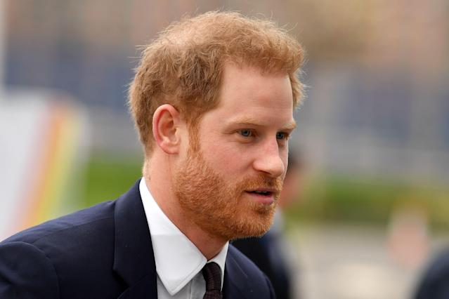 Harry stood down as a patron before stepping back as a senior royal. (Getty Images)