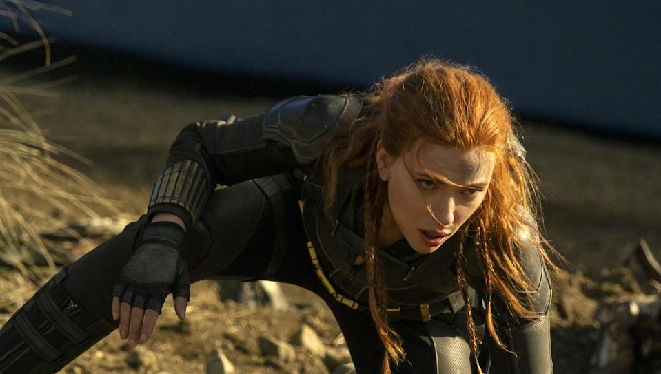 Black Widows debuts in theaters and on Disney+ on July 9th, 2021. - Credit: Marvel Studios