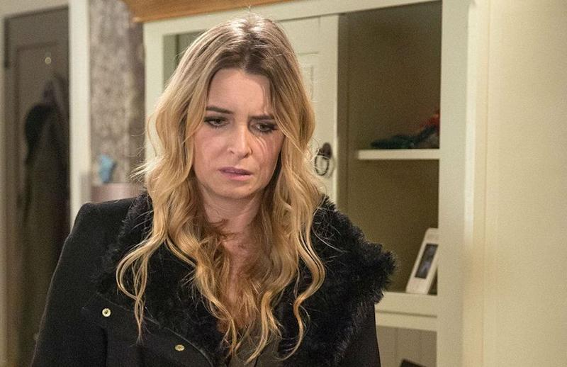 Charity Dingle (Emma Atkins) in Emmerdale (ITV)