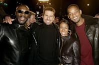 <p>Isaac Hayes, Tom Cruise, Jada Pinkett Smith and Will Smith attend <em>The Last Samurai</em> Los Angeles Premiere on Dec. 1, 2003.</p>