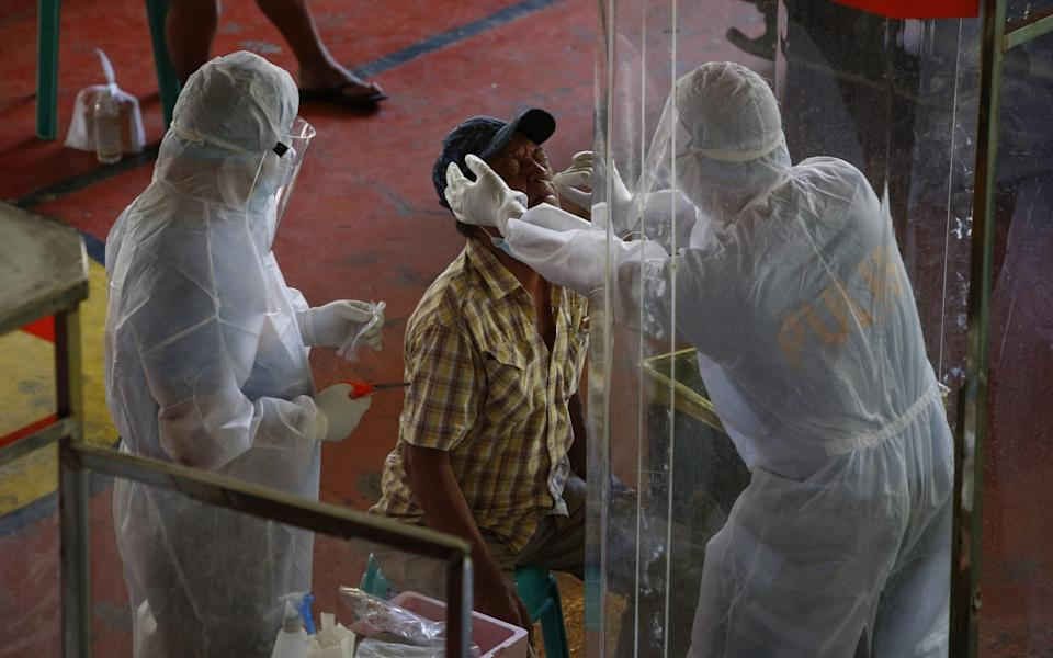 Medical workers say they are burning out - Rolex Dela Pena/EPA-EFE