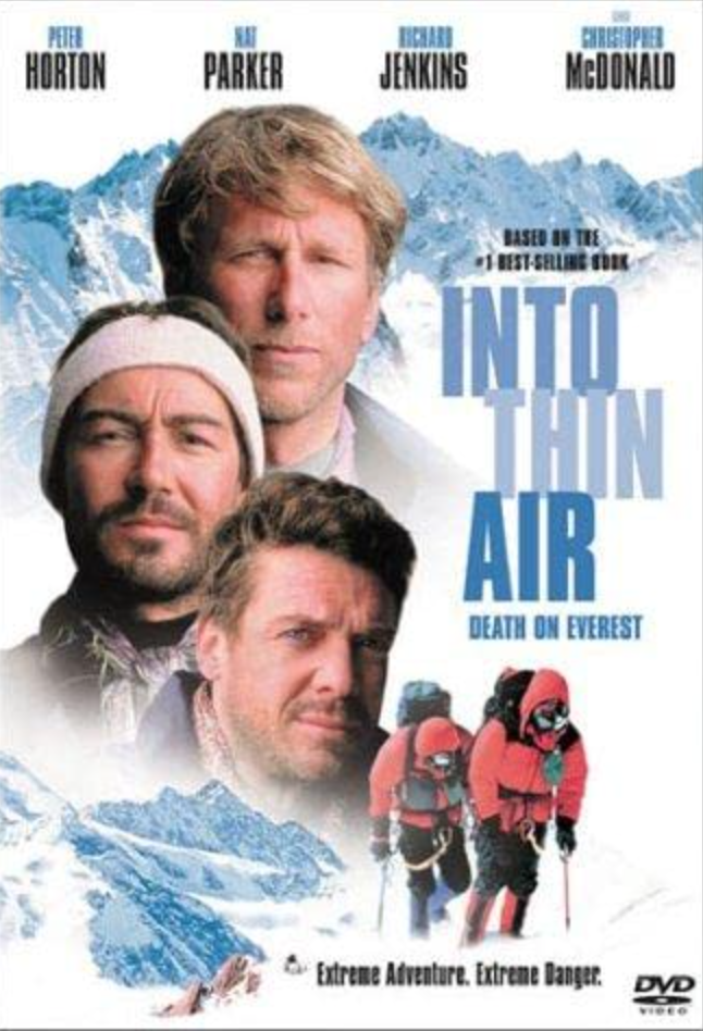 """<p>While the adaptation is a bit clunky, the film, nevertheless, provides another window into the events of the tragic 1996 Everest expedition. Maybe watch with some fact-checking material handy.</p><p><a class=""""link rapid-noclick-resp"""" href=""""https://www.amazon.com/Into-Thin-Air-Death-Everest/dp/B00005B1WA/ref=sr_1_1?dchild=1&keywords=Into+Thin+Air%3A+Death+on+Everest+%281997%29&qid=1618411975&s=instant-video&sr=1-1&tag=syn-yahoo-20&ascsubtag=%5Bartid%7C2139.g.36099738%5Bsrc%7Cyahoo-us"""" rel=""""nofollow noopener"""" target=""""_blank"""" data-ylk=""""slk:STREAM IT HERE"""">STREAM IT HERE </a></p>"""