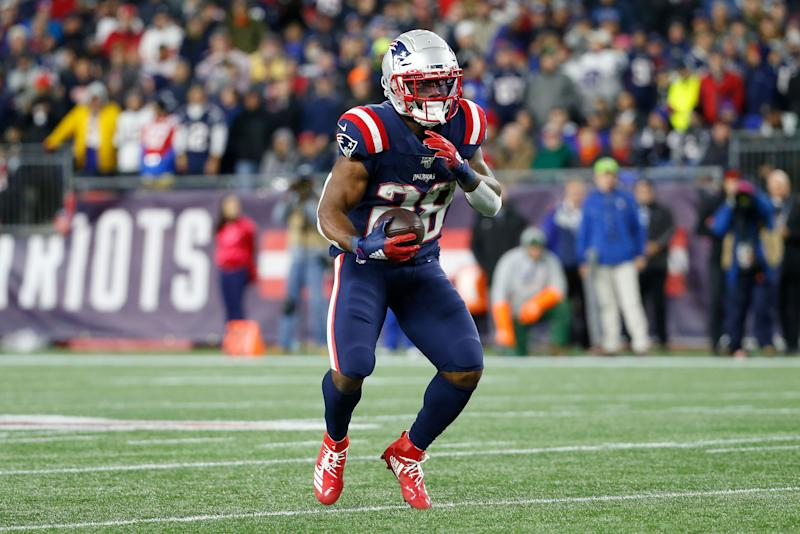 Report: James White inactive after sudden death of father