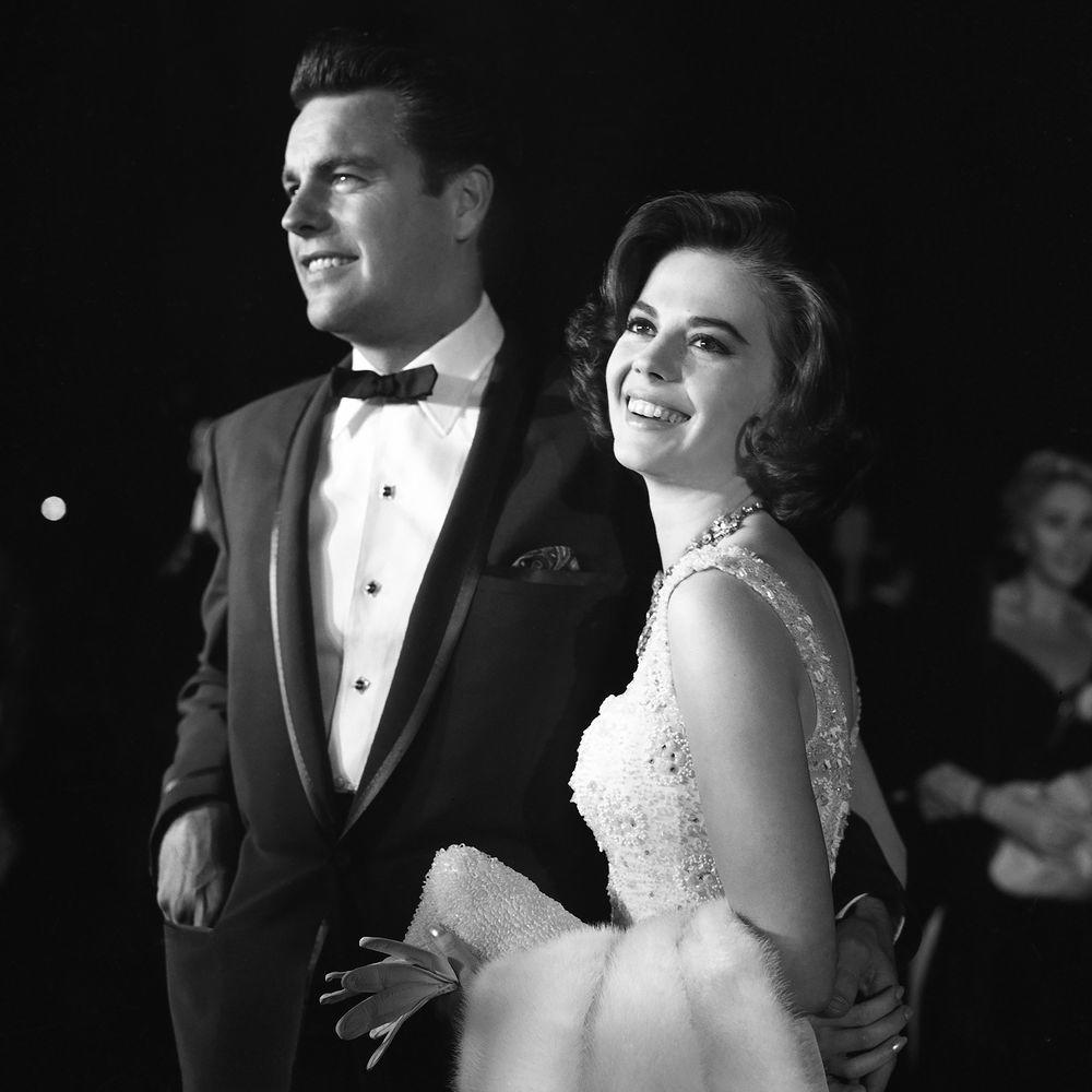 Robert Wagner and Natalie Wood in 1959