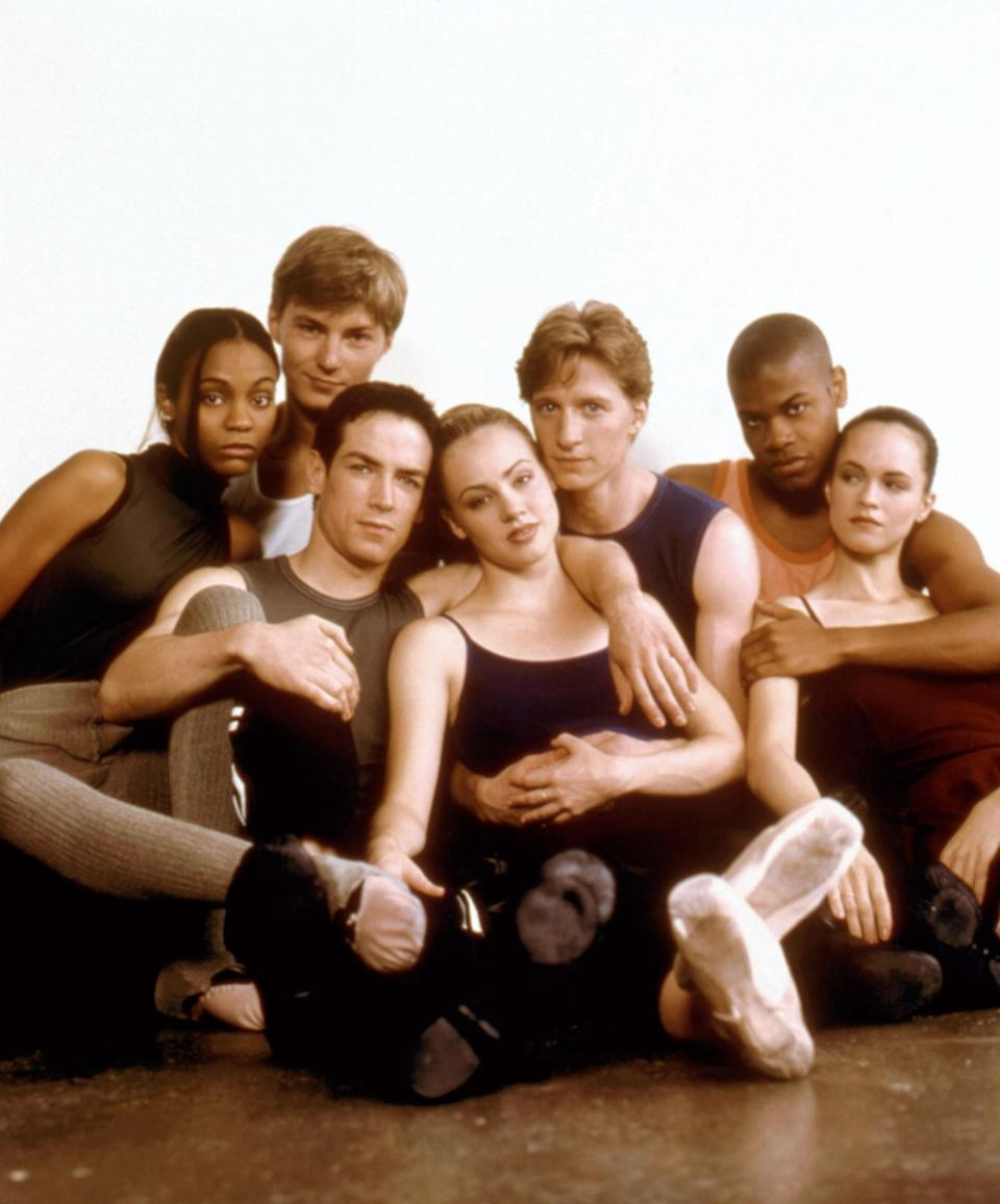 "<p>Name a more iconic dance movie than <em>Center Stage</em>. I'll wait. It's got everything: drama, hot guys in tight pants, a sassy 21-year-old Zoe Saldana (her first film!), and the most delightfully unhinged ballet finale that somehow always manages to warm your heart and make you cringe at the same time. (The motorcycle, the bed...I mean!) Sure, in 2020, Cooper comes off infinitely more skeevy than I remember him being in middle school, but the women who refuse to take his shit remain the same. — <em>Lindsay Schallon, senior beauty editor</em> </p> <p><a href=""https://www.netflix.com/watch/60000891?source=35"" rel=""nofollow noopener"" target=""_blank"" data-ylk=""slk:Stream here"" class=""link rapid-noclick-resp""><em>Stream here</em></a> </p>"
