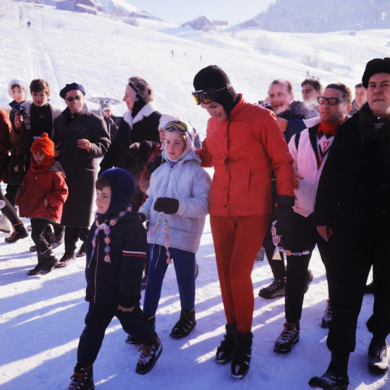 Let Jackie Kennedy Teach You How to Ski in Style