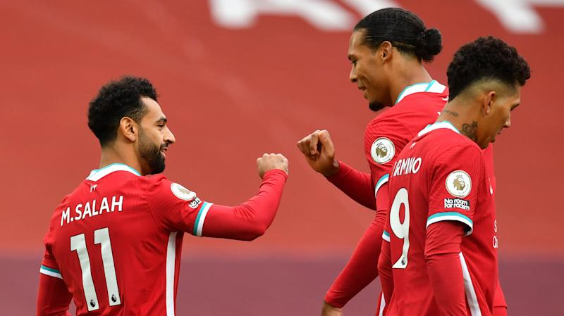 Salah makes Liverpool history with goal on opening day of 2020-21 Premier League season vs Leeds