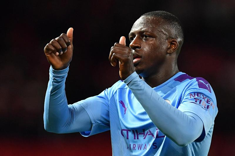 Mendy knows the job against Real Madrid is only half-finished, however: AFP via Getty Images