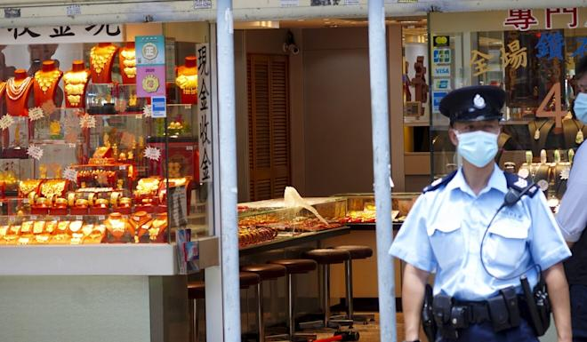 No one was injured in the robbery. Photo: Sam Tsang
