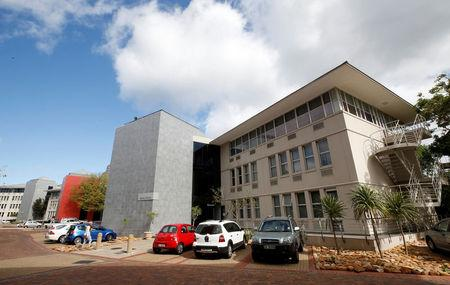 Buildings housing the Varsity College are seen in Rondebosch, Cape Town, South Africa