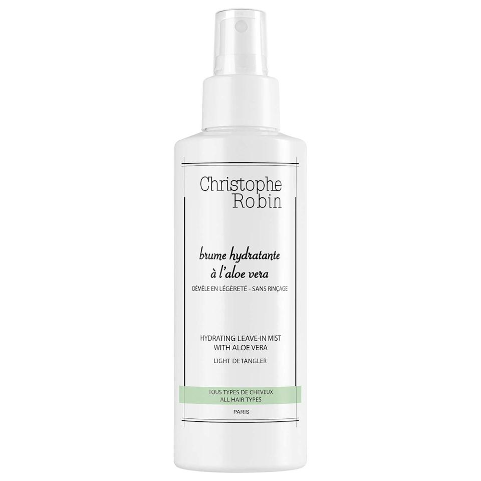 """<p><strong>Christophe Robin Hydrating Leave-In Mist with Aloe Vera </strong></p><p>dermstore.com</p><p><strong>$31.20</strong></p><p><a href=""""https://go.redirectingat.com?id=74968X1596630&url=https%3A%2F%2Fwww.dermstore.com%2Fproduct_Hydrating%2BLeaveIn%2BMist%2Bwith%2BAloe%2BVera_81696.htm&sref=https%3A%2F%2Fwww.harpersbazaar.com%2Fbeauty%2Fhair%2Fg35744327%2Ffall-2021-hair-trends%2F"""" rel=""""nofollow noopener"""" target=""""_blank"""" data-ylk=""""slk:Shop Now"""" class=""""link rapid-noclick-resp"""">Shop Now</a></p>"""