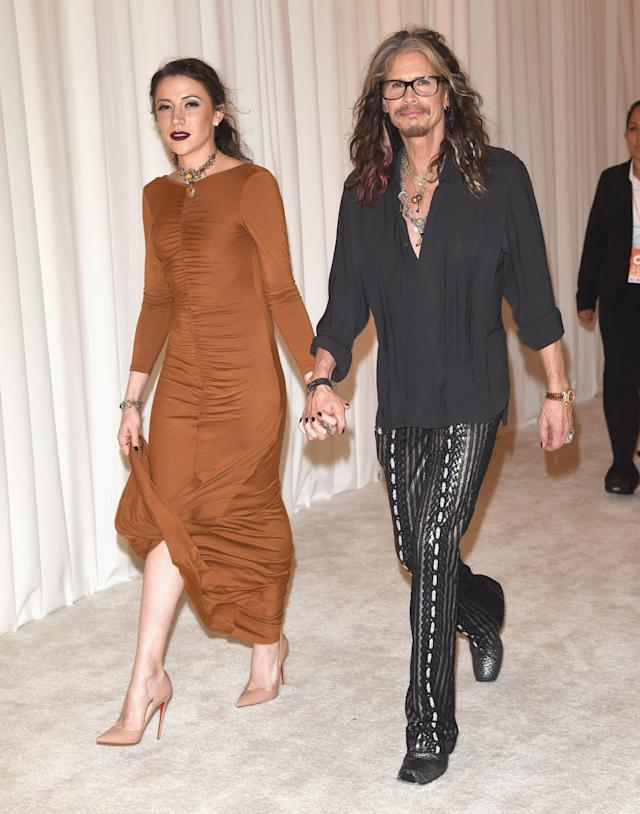 Steven Tyler S Latest Girlfriend Is Younger Than Most Of His Daughters
