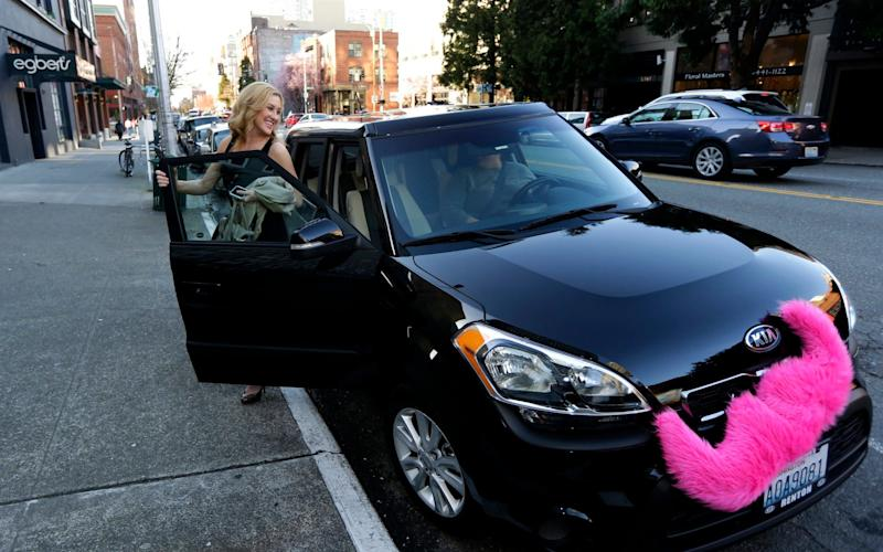 Lyft competes with Uber in the US and is believed to be considering launching globally - AP