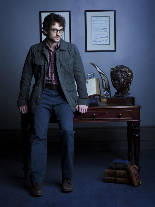 "Hugh Dancy as Special Agent Will Graham in ""Hannibal"" on NBC."