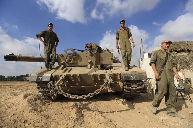 Hamas steps up rocket fire, Israel says ready for escalation