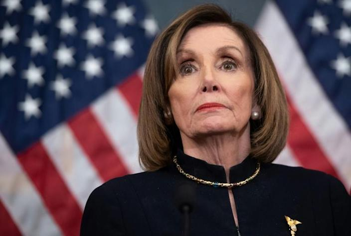 Aides to US Speaker of the House Nancy Pelosi said she was not briefed in advance of the US operation that killed a top Iranian military commander (AFP Photo/SAUL LOEB)
