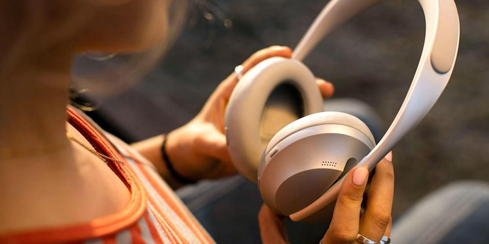 "<p>Bose is known for making some of the best headphones and earbuds in the business. But what you might not know is how different each pair is, and that's why we're here to help. </p><h3 class=""body-h3"">Best Bose Headphones & Earbuds</h3><ul><li><strong>Best Wireless Headphones:</strong> <a href=""https://www.amazon.com/dp/B07Q9MJKBV?tag=syn-yahoo-20&ascsubtag=%5Bartid%7C2089.g.1545%5Bsrc%7Cyahoo-us"" rel=""nofollow noopener"" target=""_blank"" data-ylk=""slk:Bose Noise Cancelling Headphones 700"" class=""link rapid-noclick-resp"">Bose Noise Cancelling Headphones 700</a></li><li><strong>Best Wireless Earbuds:</strong> <a href=""https://www.amazon.com/dp/B08C4KWM9T?tag=syn-yahoo-20&ascsubtag=%5Bartid%7C2089.g.1545%5Bsrc%7Cyahoo-us"" rel=""nofollow noopener"" target=""_blank"" data-ylk=""slk:Bose QuietComfort Noise Cancelling Earbuds"" class=""link rapid-noclick-resp"">Bose QuietComfort Noise Cancelling Earbuds</a></li><li><strong>Best for Exercising: </strong><a href=""https://www.amazon.com/dp/B08CJFYBBZ?tag=syn-yahoo-20&ascsubtag=%5Bartid%7C2089.g.1545%5Bsrc%7Cyahoo-us"" rel=""nofollow noopener"" target=""_blank"" data-ylk=""slk:Bose Sport Wireless Earbuds"" class=""link rapid-noclick-resp"">Bose Sport Wireless Earbuds</a></li><li><strong>The Most Fashionable: </strong><a href=""https://www.amazon.com/dp/B08CYY2S3V?tag=syn-yahoo-20&ascsubtag=%5Bartid%7C2089.g.1545%5Bsrc%7Cyahoo-us"" rel=""nofollow noopener"" target=""_blank"" data-ylk=""slk:Bose Frames Tenor Audio Sunglasses"" class=""link rapid-noclick-resp"">Bose Frames Tenor Audio Sunglasses</a></li><li><strong>Best for Gamers:</strong> <a href=""https://www.amazon.com/dp/B08DVCNYJC?tag=syn-yahoo-20&ascsubtag=%5Bartid%7C2089.g.1545%5Bsrc%7Cyahoo-us"" rel=""nofollow noopener"" target=""_blank"" data-ylk=""slk:Bose QuietComfort 35 Series 2 Gaming Headset"" class=""link rapid-noclick-resp"">Bose QuietComfort 35 Series 2 Gaming Headset</a></li><li><strong>Best Neckband Option:</strong> <a href=""https://www.amazon.com/dp/B01L7PWBRG?tag=syn-yahoo-20&ascsubtag=%5Bartid%7C2089.g.1545%5Bsrc%7Cyahoo-us"" rel=""nofollow noopener"" target=""_blank"" data-ylk=""slk:Bose SoundSport Wireless Earbuds"" class=""link rapid-noclick-resp"">Bose SoundSport Wireless Earbuds</a></li><li><strong>Lightweight Yet Durable: </strong><a href=""https://www.amazon.com/dp/B0117RGD0K?tag=syn-yahoo-20&ascsubtag=%5Bartid%7C2089.g.1545%5Bsrc%7Cyahoo-us"" rel=""nofollow noopener"" target=""_blank"" data-ylk=""slk:Bose SoundLink II Wireless Headphones"" class=""link rapid-noclick-resp"">Bose SoundLink II Wireless Headphones</a></li><li><strong>Made for Better Sleep: </strong><a href=""https://www.amazon.com/dp/B08FRR6Z1N?tag=syn-yahoo-20&ascsubtag=%5Bartid%7C2089.g.1545%5Bsrc%7Cyahoo-us"" rel=""nofollow noopener"" target=""_blank"" data-ylk=""slk:Bose Sleepbuds II"" class=""link rapid-noclick-resp"">Bose Sleepbuds II</a></li><li><strong>Wired Noise-Canceling Earbuds: </strong><a href=""https://www.amazon.com/dp/B00X9KV0HU?tag=syn-yahoo-20&ascsubtag=%5Bartid%7C2089.g.1545%5Bsrc%7Cyahoo-us"" rel=""nofollow noopener"" target=""_blank"" data-ylk=""slk:Bose QuietComfort 20"" class=""link rapid-noclick-resp"">Bose QuietComfort 20</a></li><li><strong>The OG Noise-Cancelling Cans:</strong> <a href=""https://www.amazon.com/dp/B0756CYWWD?tag=syn-yahoo-20&ascsubtag=%5Bartid%7C2089.g.1545%5Bsrc%7Cyahoo-us"" rel=""nofollow noopener"" target=""_blank"" data-ylk=""slk:Bose QuietComfort 35 Series 2 Wireless Headphones"" class=""link rapid-noclick-resp"">Bose QuietComfort 35 Series 2 Wireless Headphones</a><strong><br></strong></li></ul><p>The audio giant offers distinct products that are all at the top of their class. So what do they all have in common? Each headset features solid build quality and the storied manufacturer's signature understated design. The audio performance of all Bose headphones is impressive, too. Unlike many competitors that <em>hide</em> their sonic deficiencies behind powerful bass, Bose headphones deliver a stellar experience throughout the entire tonal range. </p><p>As far as additional accessories go, each Bose headset comes with a carrying case, so there's no need to worry about storage. In-ear models come with replaceable tips for an optimal fit, while the wireless headphones come with an audio cable for the moments when the battery runs out. </p><p>Take a look at the best Bose headphones available today, from exciting new products to the brand's tried and trues. </p>"