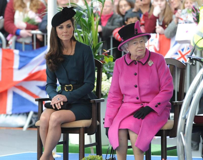 However the Queen apparently wants Kate to step up her royal duties. Photo: Getty Images