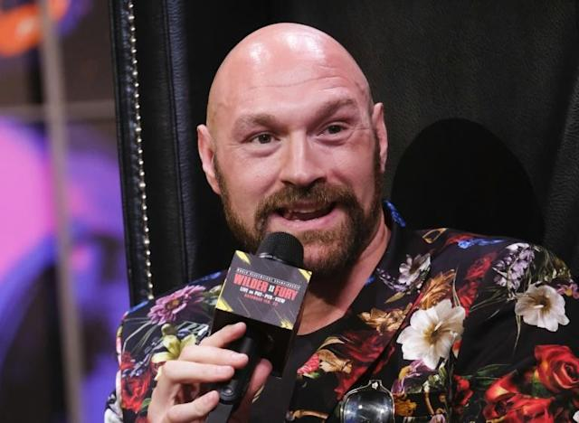 Unbeaten British boxer Tyson Fury says he has never been more ready for a fight (AFP Photo/RINGO CHIU)