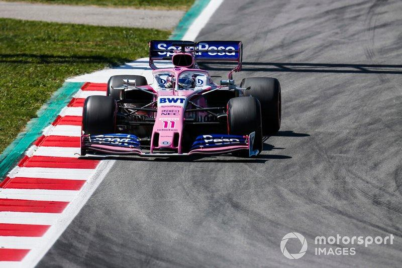"Sergio Perez, Racing Point RP19<span class=""copyright"">Joe Portlock / Motorsport Images</span>"