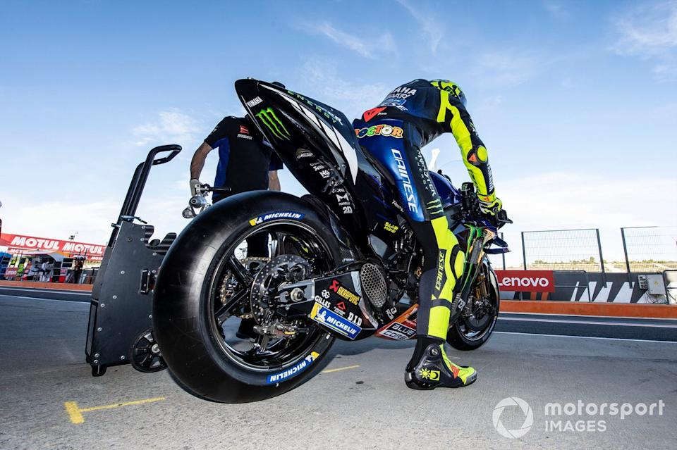 """Valentino Rossi, Yamaha Factory Racing<span class=""""copyright"""">Gold and Goose / Motorsport Images</span>"""