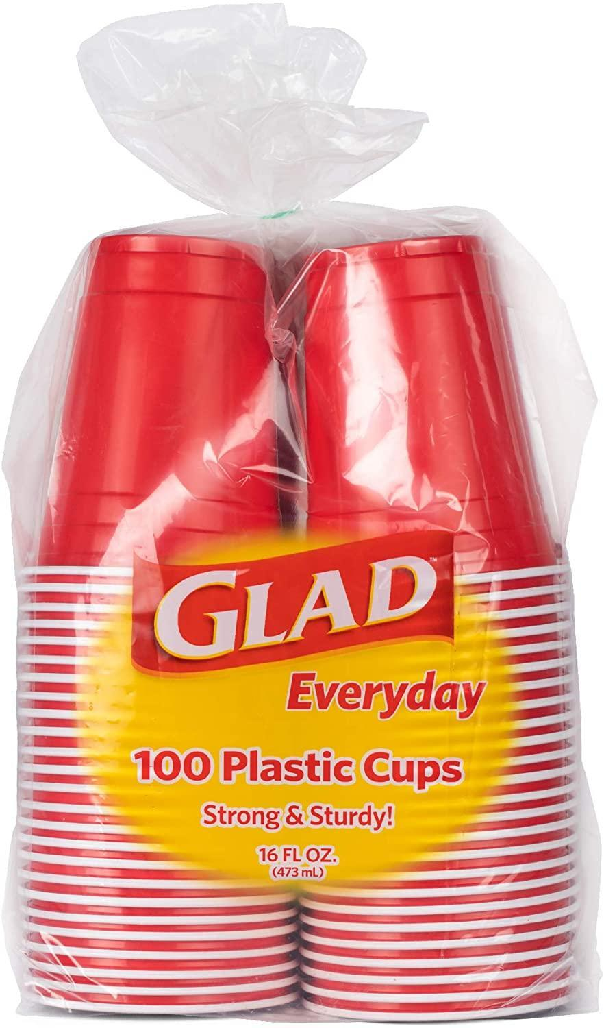 Glad Everyday Disposable Plastic Cups