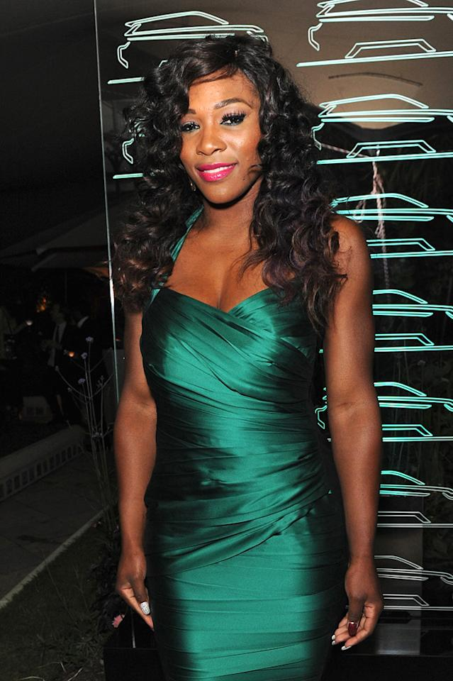 """Tennis star Serena Williams turns 30. JAB Promotions/<a href=""""http://www.wireimage.com"""" target=""""new"""">WireImage.com</a> - June 16, 2011"""