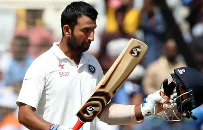 Cheteshwar Pujara's ton takes India to 303/4 at tea vs Australia
