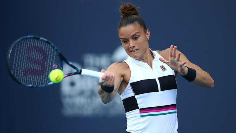 Sakkari claims first WTA title with stunning Rabat comeback