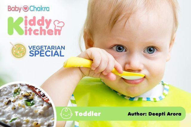 Kiddy Kitchen: Vegetarian Special (Toddlers)