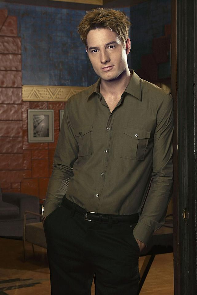 """Justin Hartley in the CW series """"Smallville"""""""