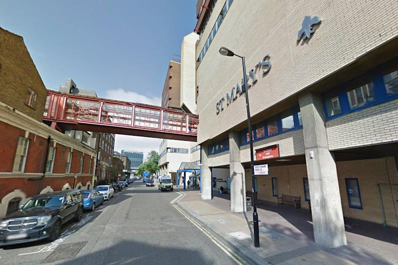 St Mary's: The hospital launched an internal investigation: Google StreetView