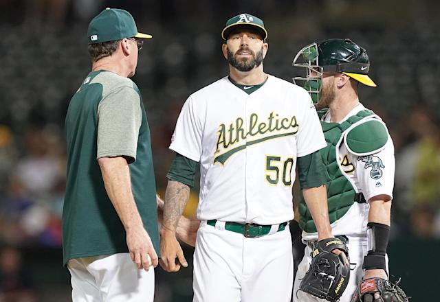 Former Houston Astro Mike Fiers claims his former team had an elaborate system to steal signs, a clear violation of MLB rules. (Thearon W. Henderson/Getty Images)