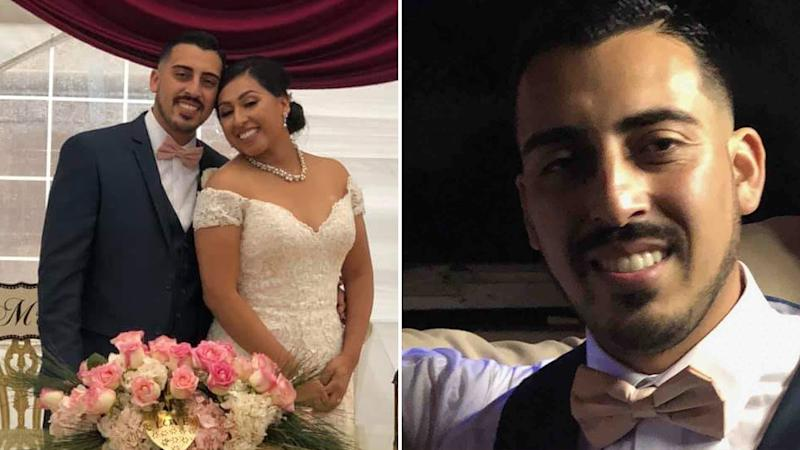 Murdered Joe Melgoza on his wedding day to Esther Bustamante Melgoza