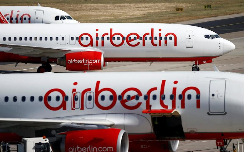 Roughly 200 Air Berlin pilots called in sick at short notice leading to the cancellation of more than 110 flights