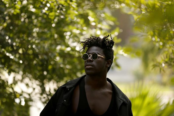 "Moses Sumney <span class=""copyright"">(Luis Sinco / Los Angeles Times)</span>"