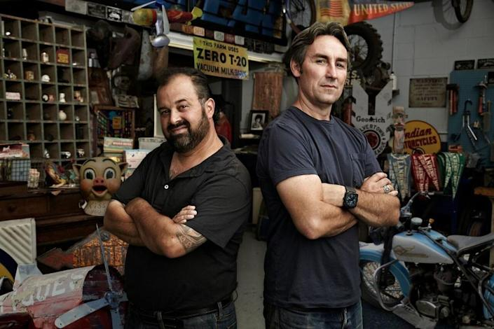 <p><strong><em>American Pickers </em><br><br></strong>There aren't a ton of reality shows on this list, but then again, there aren't a ton of shows set in Iowa. This History Channel series focuses on friends Mike and Frank and their ability to find treasure among trash. </p>
