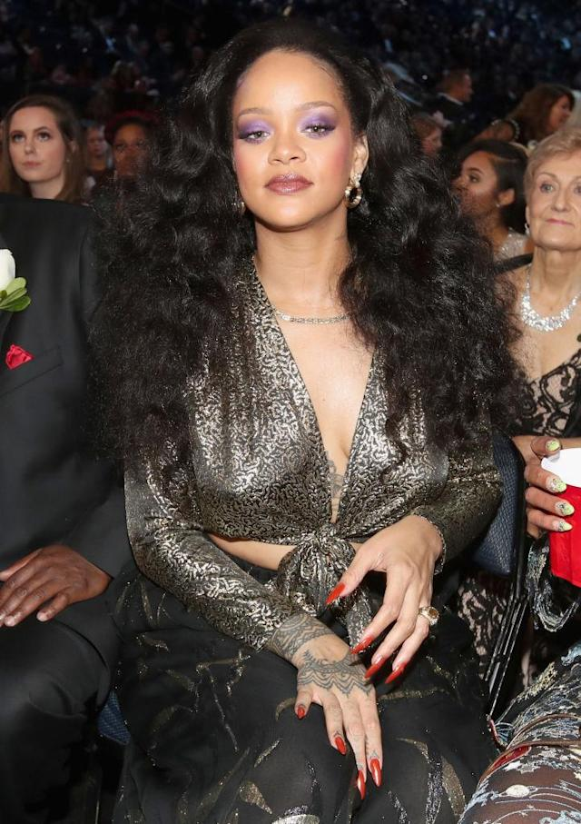 Rihanna is multitalented, but she's first and foremost a singer. (Photo: Christopher Polk/Getty Images for NARAS)