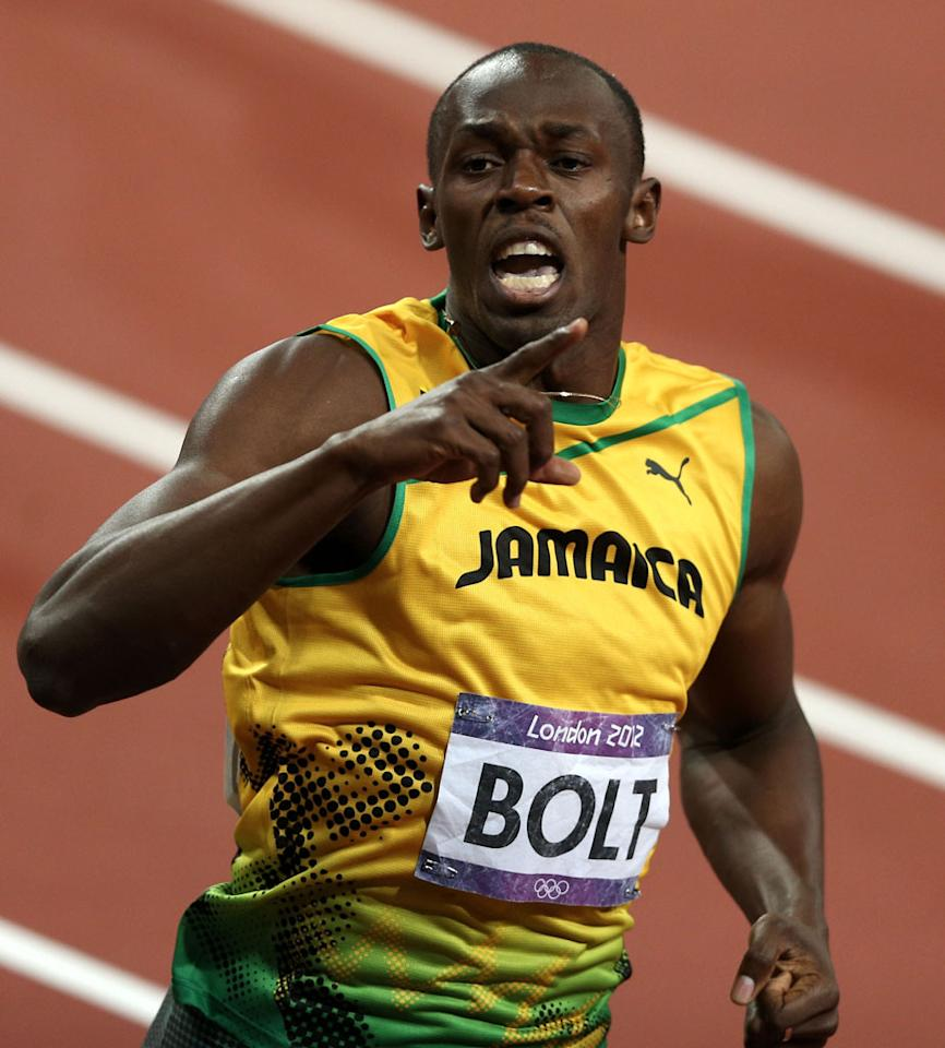 "<p><b>10. ""Bolt by Bolt""</b><br>  A half-hour reality series in which Usain Bolt just talks about himself and feeds into his own hype. If there's time left over, maybe he could show us how fast he can do various everyday tasks. But again, most of the show would be devoted to him talking about himself. Think of all the sponsorships that can be squeezed into one television screen. </p>"