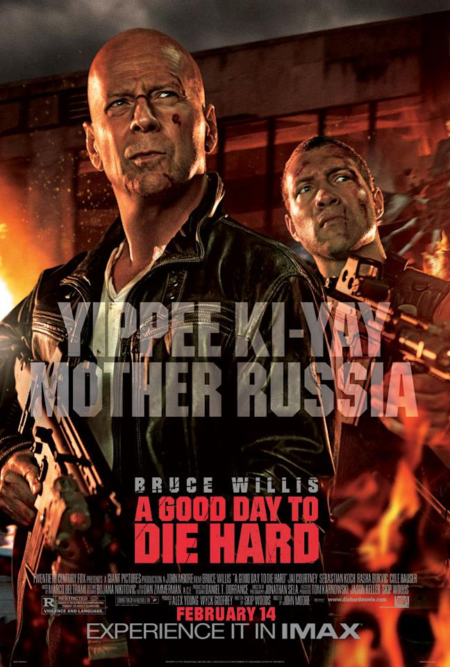 "Bruce Willis and Jai Courtney star in 20th Century Fox's ""A Good Day to Die Hard"" - 2013"