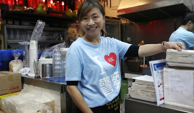 Kate Lee, owner of Ngan Loong Cafe. Photo: Xiaomei Chen
